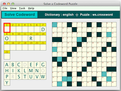 codeword puzzles